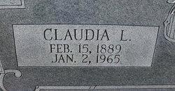 Claudia L. <i>Coggins</i> Blair