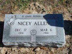 Nicey Mae <i>Evers</i> Allen
