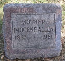 Imogene <i>VanValkenburg</i> Allen