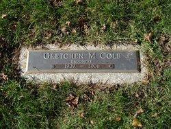 Gretchen M Cole