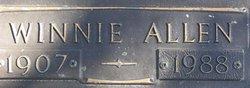 Winnie Lee <i>Allen</i> Mayhan