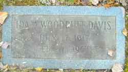 Ida A <i>Woodruff</i> Davis