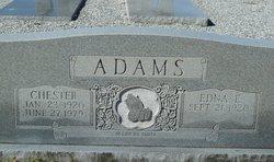 Edna E Adams