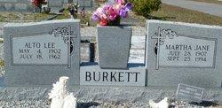 Alto Lee Burkett