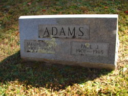 Maxine Sarah <i>Day</i> Adams