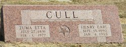 Henry Earl Cull
