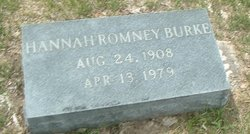 Hannah <i>Romney</i> Burke