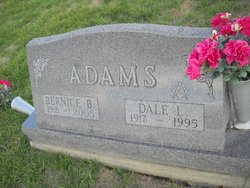 Alice Bernice <i>Baker</i> Adams