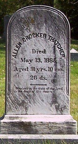 Allen Crocker Thatcher