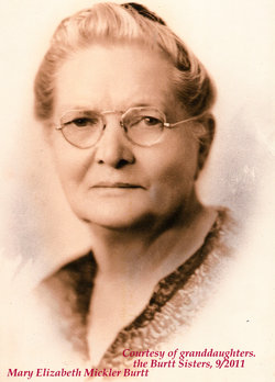 Mary Elizabeth <i>Mickler</i> Burtt