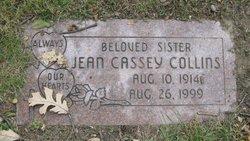 Jean <i>Cassey</i> Collins