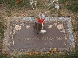 Laura Roberta <i>Reed</i> Alexander