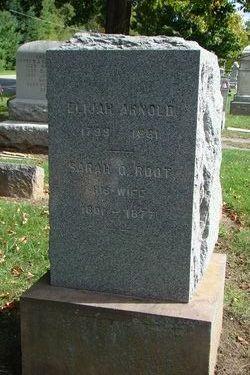 Sarah G <i>Root</i> Arnold