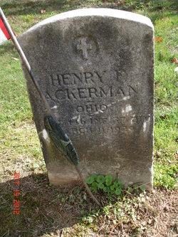 Henry F. Ackerman