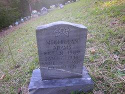 McClellan Adams