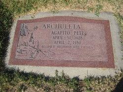 Agapito Pete Archuleta