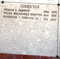 Valda <i>Hernandez</i> Gisevius