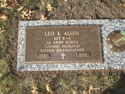 Sgt Leo L Allen