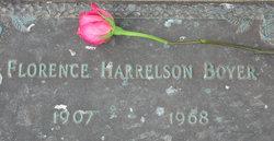 Florence Harrelson Boyer