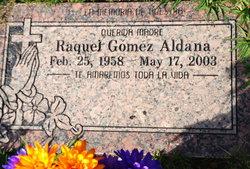 Raquel <i>Gomez</i> Aldana