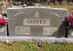 J D Guffey