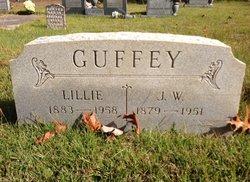 Nancy Lillie Ann <i>McLain</i> Guffey