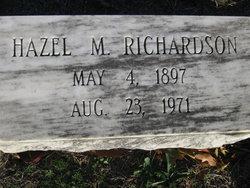 Hazel M. Richardson
