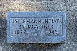 Sr Mannunciata Baumgartner