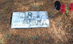 Sgt Frank T. Case