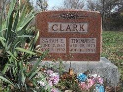 Sarah Ellen <i>Williams</i> Clark