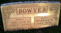 Martha A <i>Cunningham</i> Bowyer