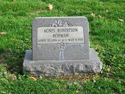 Agnes Robertson <i>French</i> Bohman