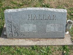 Evelyn L. <i>Mattocks</i> Hallar