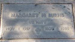 Margaret H Burns