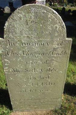 Mrs Margaret Peggy <i>Cooke</i> Cobb