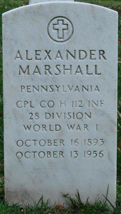 Alexander Marshall