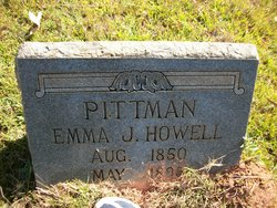 Emma June <i>Howell</i> Pittman