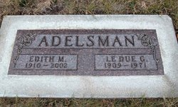 Edith Marie <i>Danielson</i> Adelsman