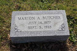 Marion Alfred Butcher