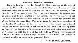 Benjamin Franklin Eshleman