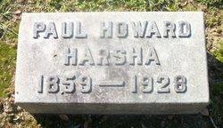 Paul Howard Harsha