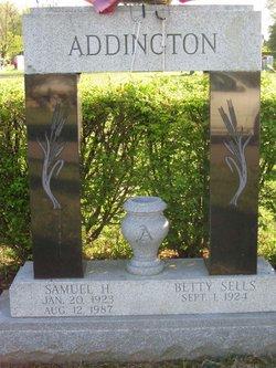 Georgia Betty <i>Sells</i> Addington