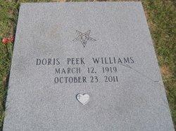 Doris <i>Peek</i> Williams