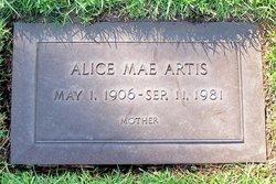 Alice Mae <i>Jones</i> Artis