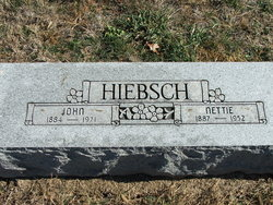 Mrs Nettie <i>Carson</i> Hiebsch