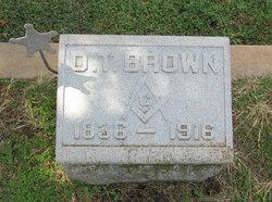 Oesian Tignor O. T. Brown