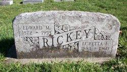 Luretta L <i>Robb</i> Rickey
