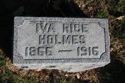 Iva <i>Rice</i> Holmes