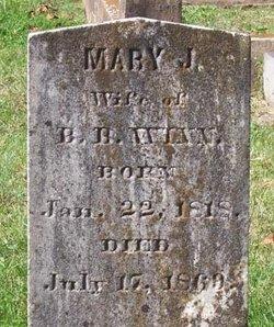 Mary Jane <i>Garrett</i> Winn