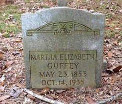 Martha Elizabeth Guffey